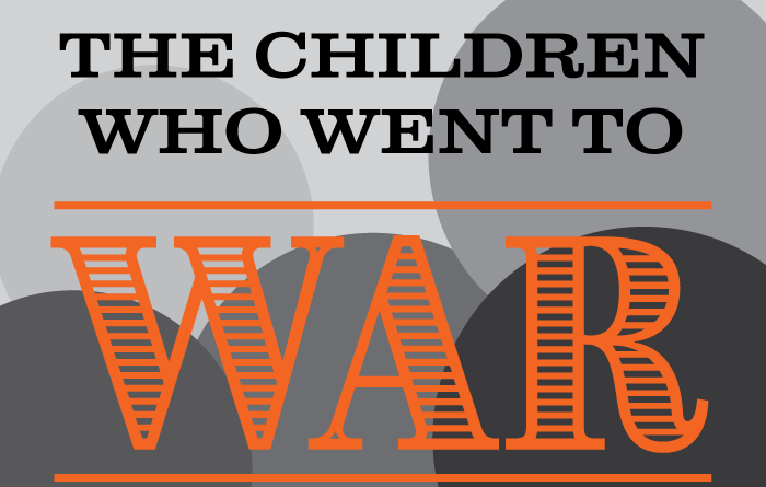 type title- The children who went to war