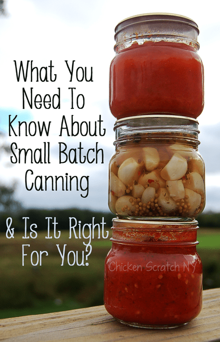 Pros And Cons Of Small Batch Canning