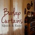 Floor length burlap curtains for 7 50 a panel
