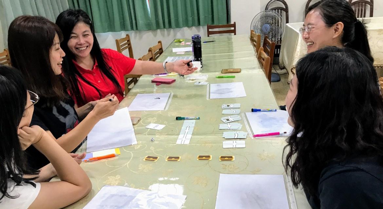 不一樣的教師研習:邊玩、邊學、邊找點子- 雞湯來了@宜蘭壯圍國中教師研習