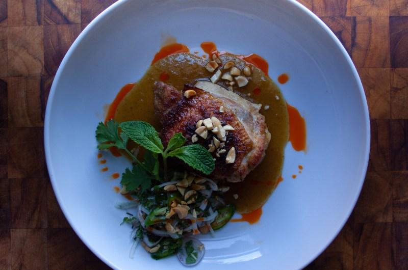 Tamarind Green Curry Chicken Thighs