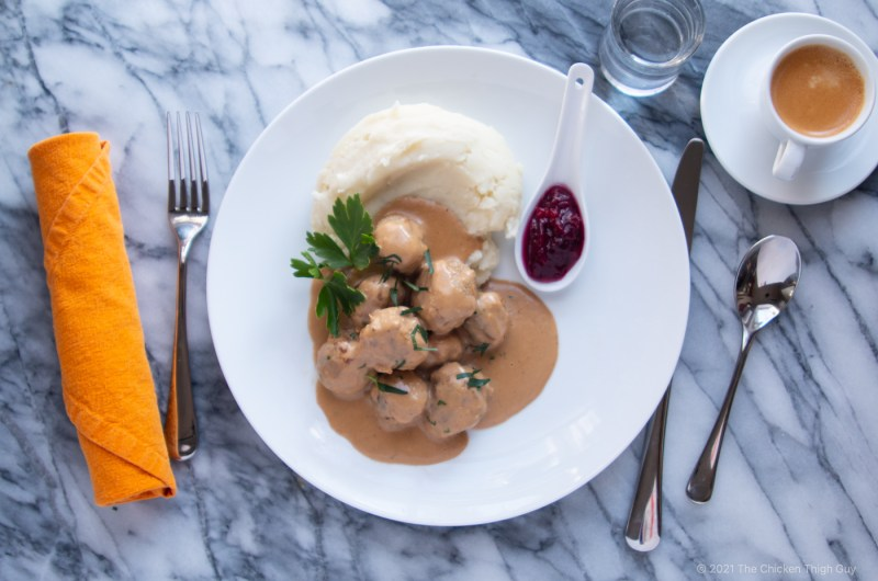 Chicken Thigh Swedish Style Meatballs