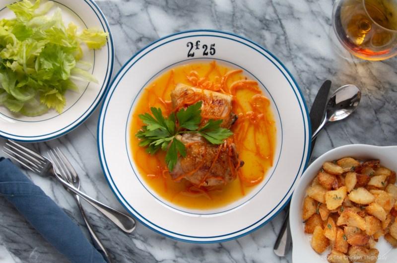 Chicken Thighs a l'Orange