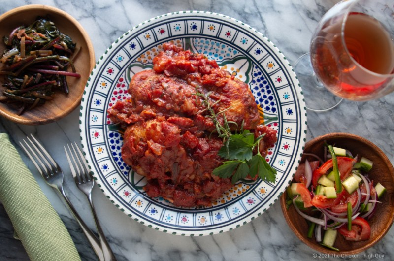 Chicken Thigh Kapama