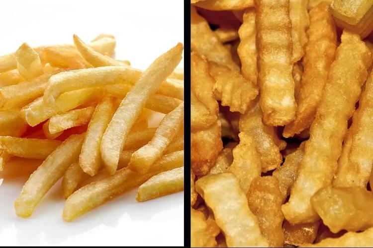 crinkle-straight-fries