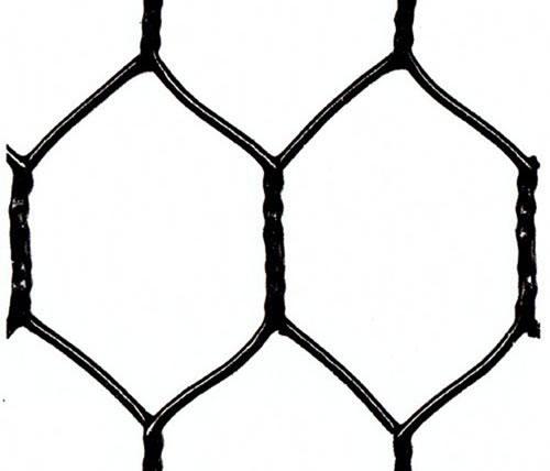 18 Gauge Black Vinyl Coated Chicken Wire Mesh: Processing