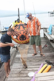 Bringing in the catfish