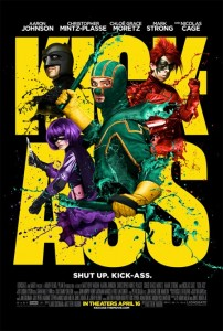 kick ass poster paint 202x300 - Kick-Ass
