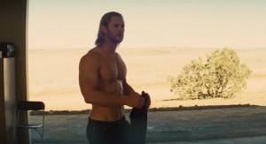 Thor shirtless 300x163 - Thor