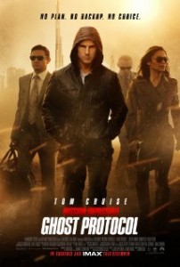 Mission Impossible GP Poster 202x300 - Mission: Impossible - Ghost Protocol