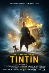 Tintin poster 202x300 - The Adventures of Tintin