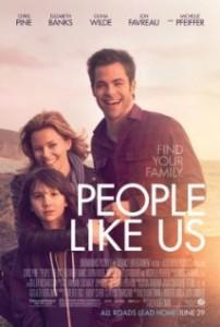 People Like Us poster 202x300 - People Like Us