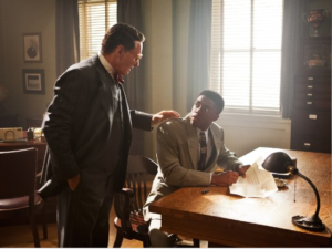 Ford and Boseman 300x225 - 42 - The True Story of an American Legend