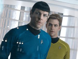 Spock and Kirk 300x228 - Star Trek Into Darkness