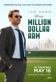 Million Dollar Arm poster - Million Dollar Arm