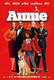 Annie poster - Mainstream Chick's Christmas Day cheat sheet