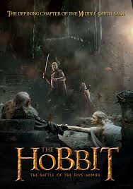 Hobbit 3 poster - Mainstream Chick's Christmas Day cheat sheet