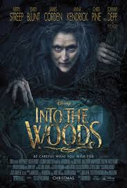 Into the Woods poster - Mainstream Chick's Christmas Day cheat sheet