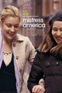 MISTRESS AMERICA one sheet 202x300 - Mistress America