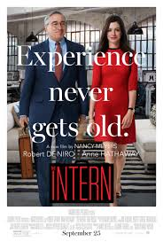 The Intern movie poster - The Intern