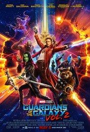 Guardians Vol 2 poster - Guardians of the Galaxy Vol. 2