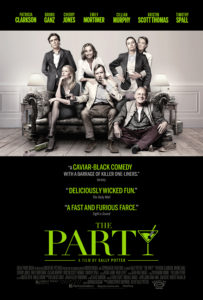 The Party poster 203x300 - Quickie Reviews: Annihilation; Game Night; The Party