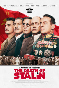 the death of stalin poster 202x300 - Review: The Death of Stalin
