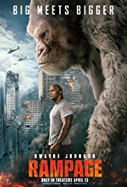 Rampage poster - Review: Rampage