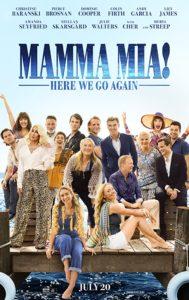 Mamma Mia HWGA poster 189x300 - Review: Mamma Mia! Here We Go Again