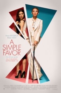 A Simple Favor poster 198x300 - Review: A Simple Favor