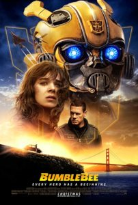 bumblebee poster 202x300 - Quickie Reviews: Ben Is Back; Bumblebee; Vice