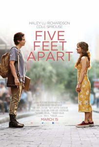 Five Feet Apart poster 203x300 - Review: Five Feet Apart