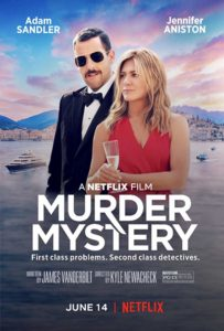 Murder Mystery poster 203x300 - Quickie Review: Murder Mystery