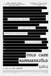 CC Hammarskjold Poster 203x300 - Review: Cold Case Hammarskjold