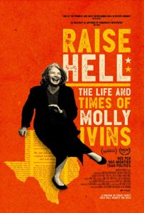 MV5BZTA5NGU2ZTctZDY1NS00NWIyLWEzM2YtMDZlYTJjMjVjZmM3XkEyXkFqcGdeQXVyMTA2MDU0NjM5. V1 SY1000 CR006771000 AL 203x300 - Review: Raise Hell: The Life and Times of Molly Ivins
