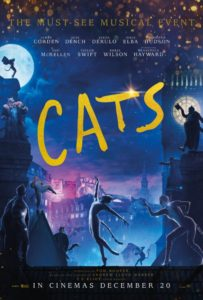 Cats movie poster 203x300 - Review: CATS