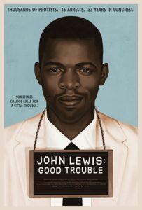 John Lewis doc poster 203x300 - Review: John Lewis: Good Trouble