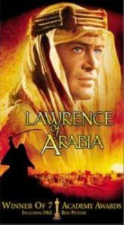 Lawrence of Arabia 166x300 - Arty Chick's Seven Flicks: Week 4