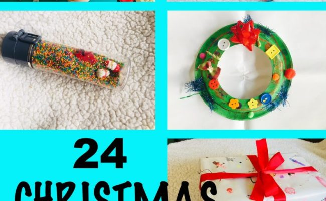 Advent Calendar For Toddlers Christmas Winter Activities