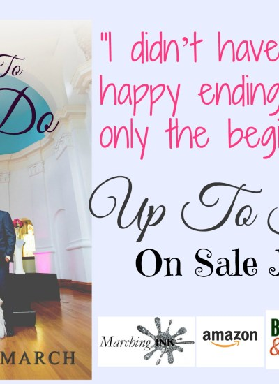 "RELEASE DAY BLITZ: ""Up To I Do"""