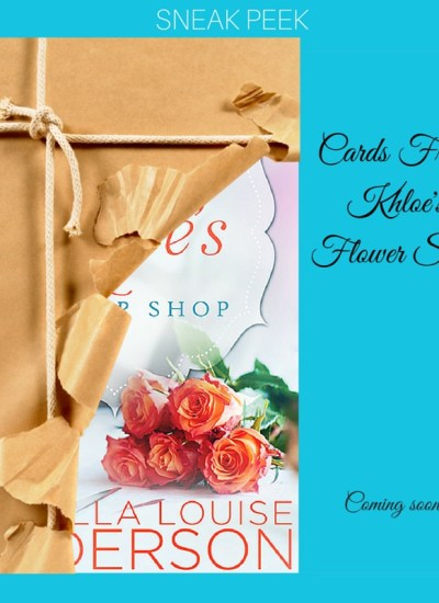 """Cover Reveal Sign-Up: """"Cards From Khloe's Flower Shop"""" by Isabella Louise Anderson"""