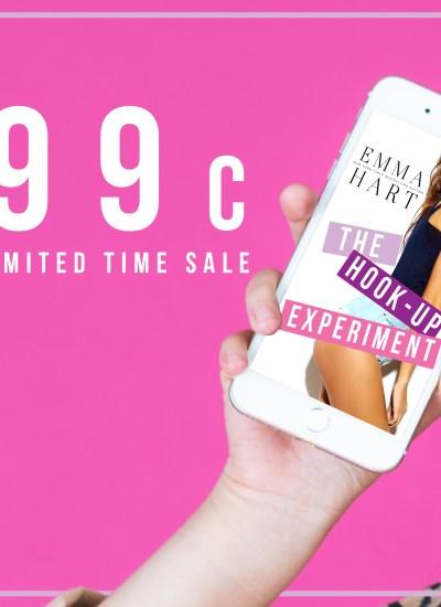$0.99 Sale Alert: The Hook-Up Experiment!