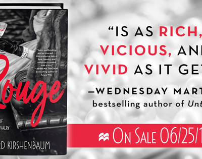 "BOOK FEATURE: ""Rouge"" by Richard Kirshenbaum"