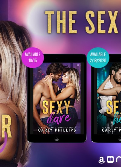 """COVER REVEAL: """"The Sexy Series"""" by Carly Phillips"""