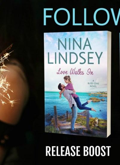 "RELEASE BOOST: ""Love Walks In"" by Nina Lindsey"