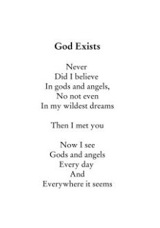 God Exists Poem