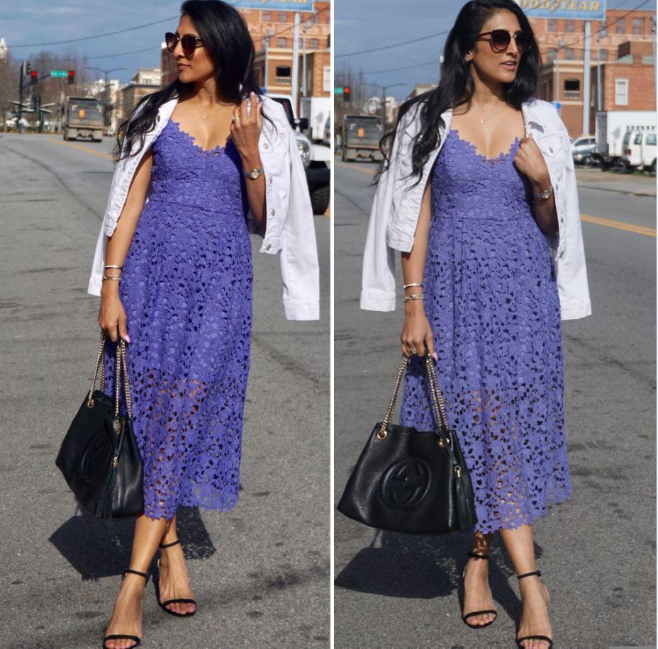 Lace Midi Dress Perfection