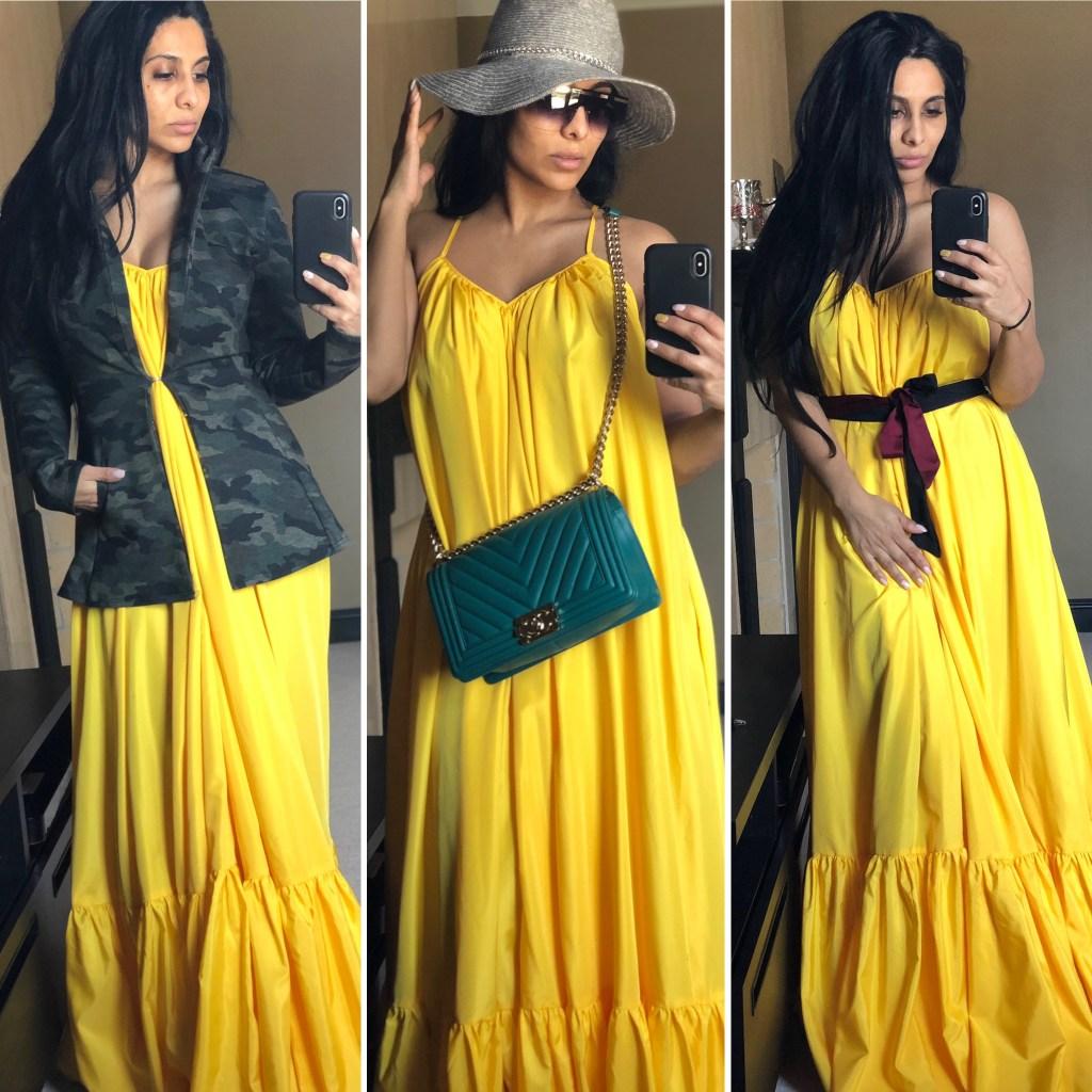 One Dress Three Ways