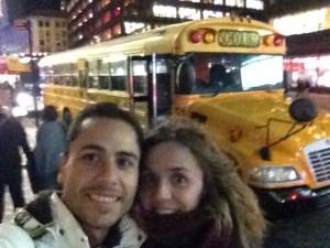 Piojos en Nueva York Bus