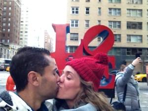 Estatua Love NY